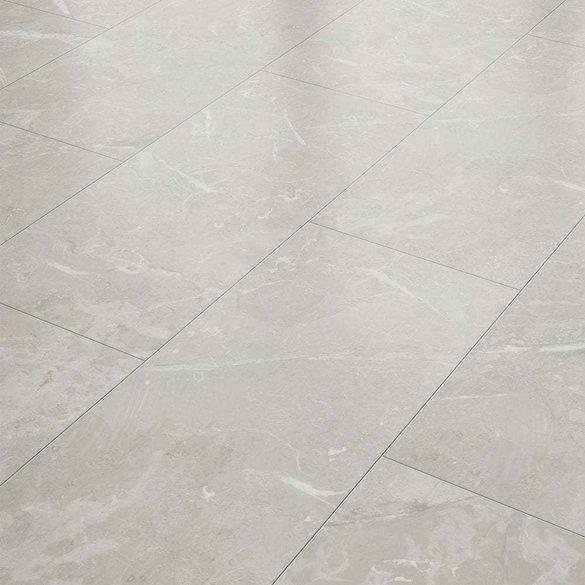 Elegant Liberty Floors Stellato 8mm, White Tile Laminate Flooring