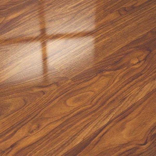 Elegant Elesgo Glamour Life Black, Elesgo High Gloss Laminate Flooring