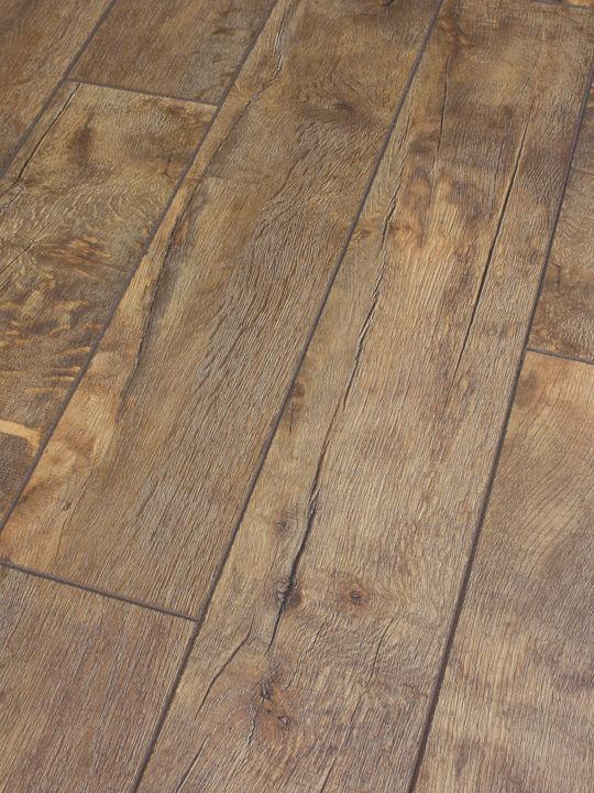 Vintage British 12mm Stone Canyon, Distressed Laminate Flooring